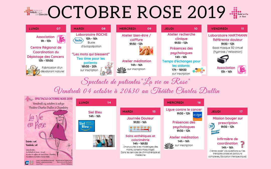 Octobre Rose 2019 : le programme complet